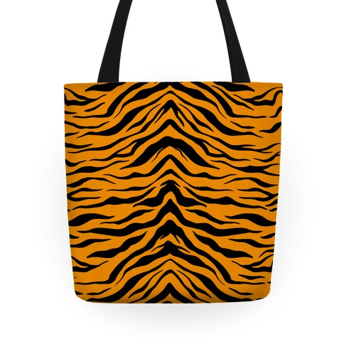 Tiger Stripe Pattern Tote