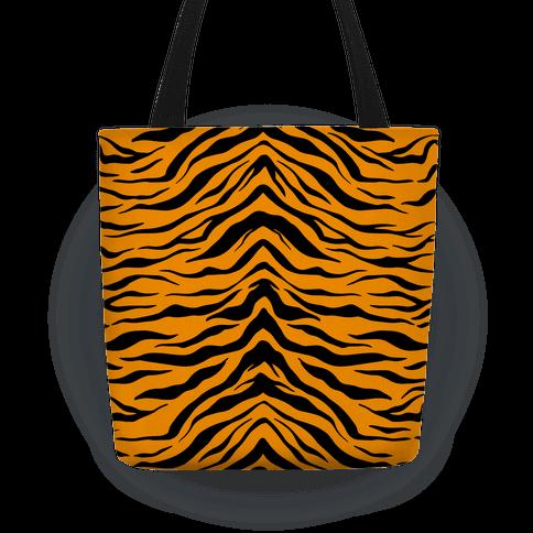 Tiger Stripe Pattern Tote