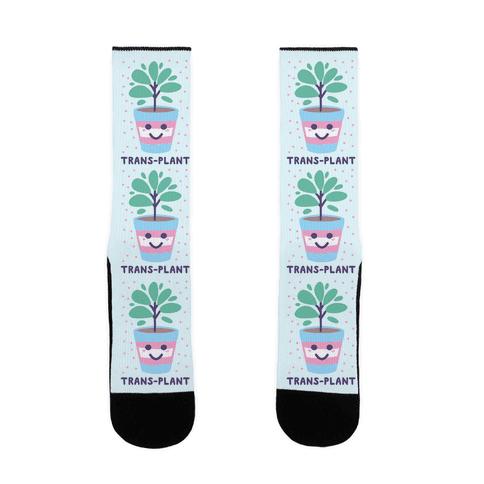 Trans Plant Sock