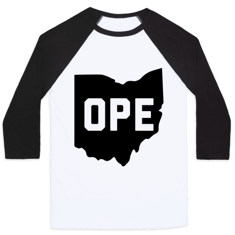 Ope Ohio Baseball Tee