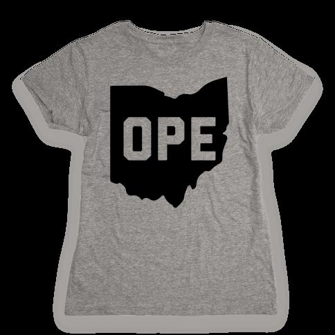 Ope Ohio Womens T-Shirt