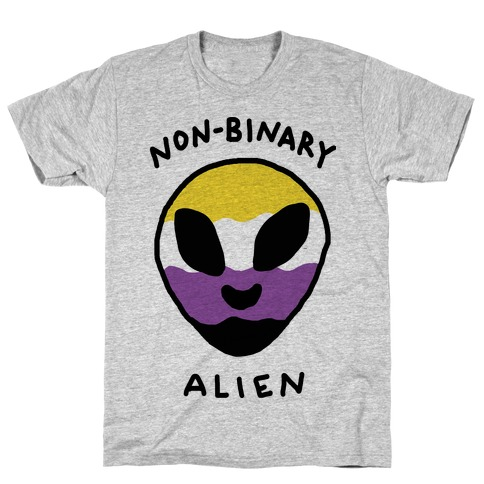 Non Binary Alien T-Shirt