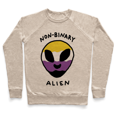 Non Binary Alien Pullover