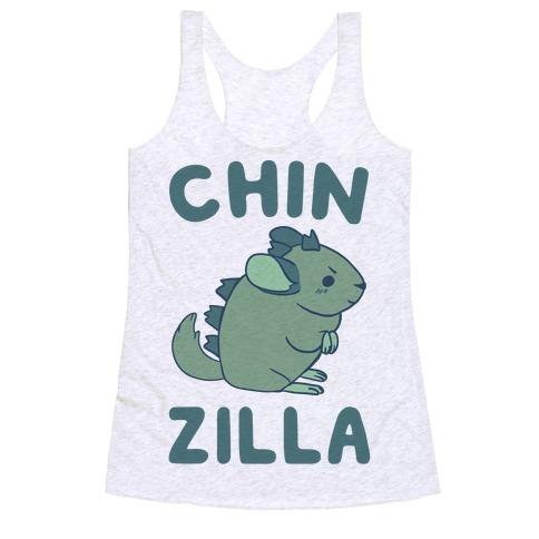 Chin-Zilla Racerback Tank Top