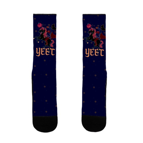 Yeetless Horseman Sock