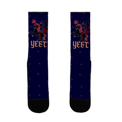 Yeetless Horseman Sock