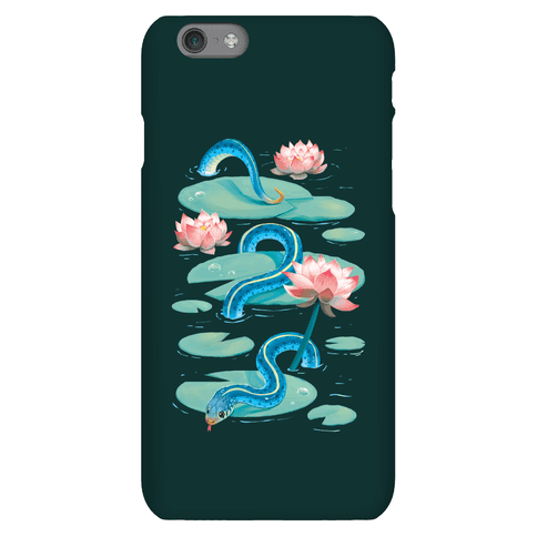 Garter Among Lily Pads Phone Case