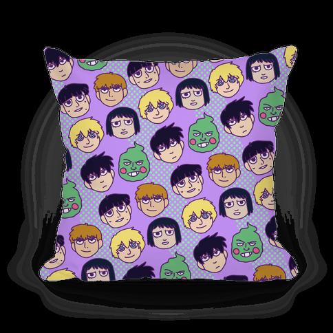 Mob Psycho 100 Pattern Pillow