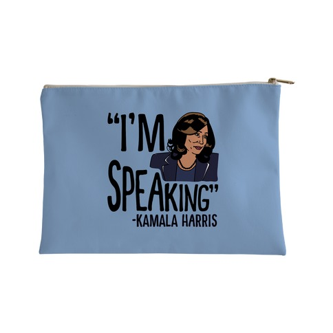 I'm Speaking Kamala Harris Accessory Bag