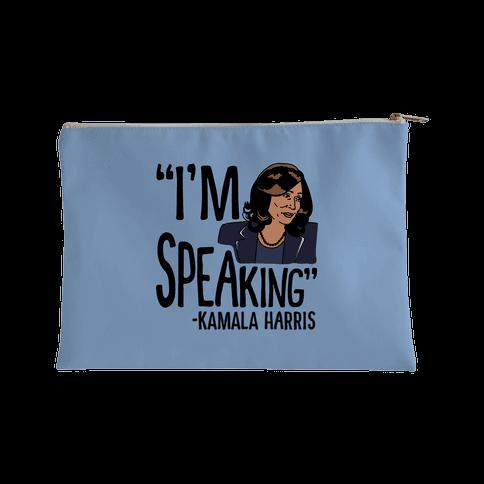 I'm Speaking Kamala Harris Accessory Bag