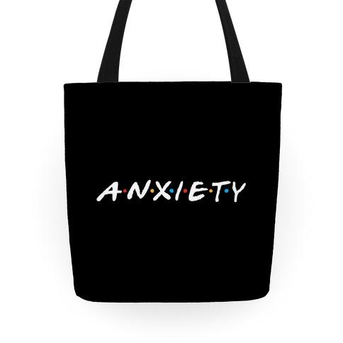 Anxiety Acquaintances  Tote