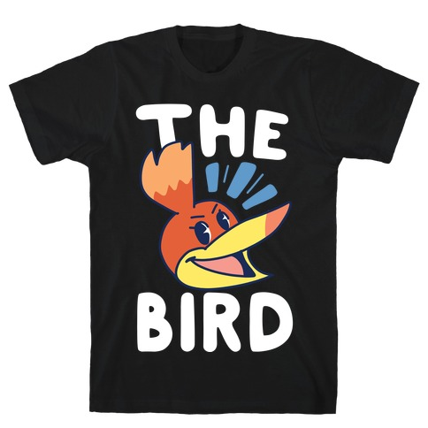 The Bird (1 of 2 pair) Mens/Unisex T-Shirt
