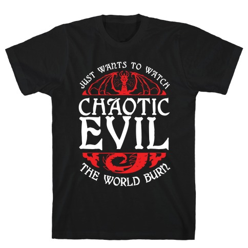 Chaotic Evil T-Shirt