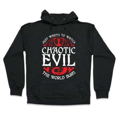 Chaotic Evil Hooded Sweatshirt
