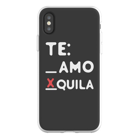 Te Amo Tequila Phone Flexi-Case