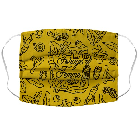 Forage Femme Accordion Face Mask