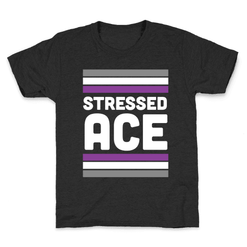 Stressed Ace Kids T-Shirt