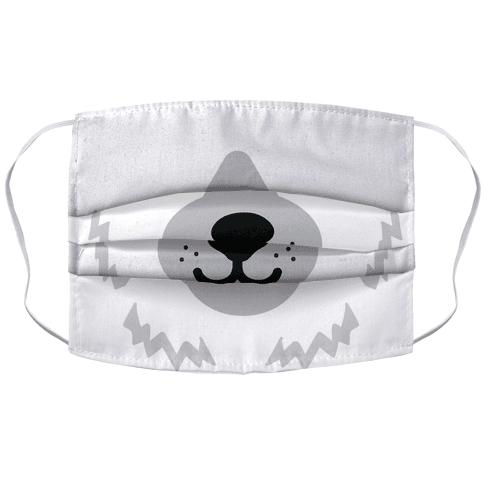 Polar Bear Snout Face Mask Cover