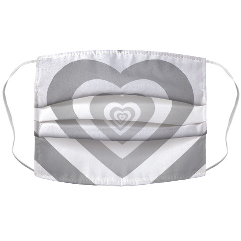 Hearts In Hearts In Hearts In Hearts In.... Accordion Face Mask