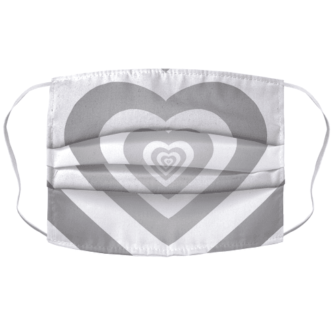 Hearts In Hearts In Hearts In Hearts In.... Face Mask Cover