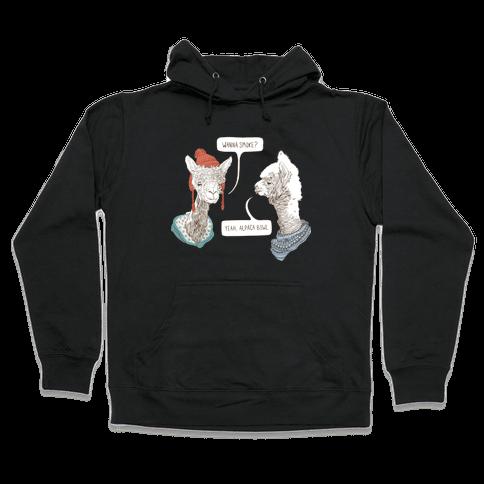 Alpaca Bowl Hooded Sweatshirt