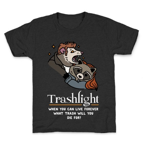 Trashlight Raccoon Opossum Parody Kids T-Shirt