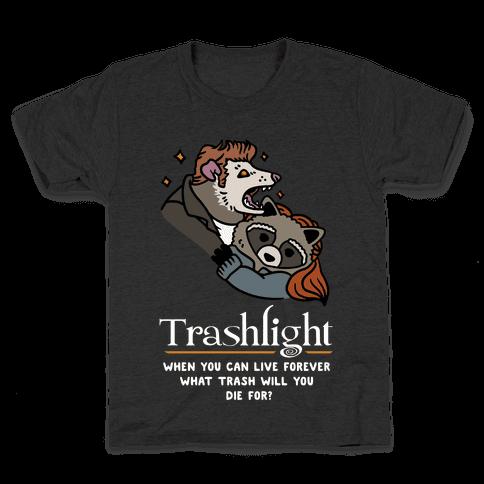 Trashlight Raccoon Opossum Parody Kids T-Shirt