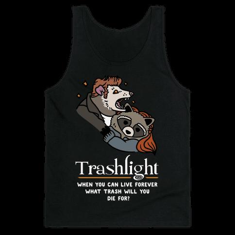 Trashlight Raccoon Opossum Parody Tank Top