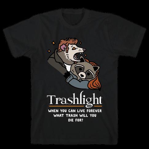 Trashlight Raccoon Opossum Parody Mens/Unisex T-Shirt