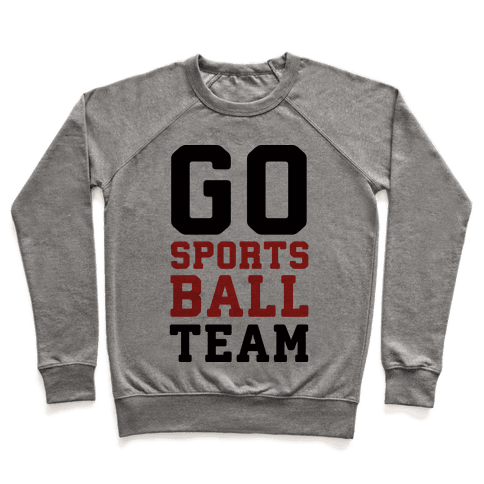 Go Sports Ball Team Pullover