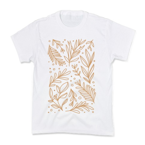 Tan Botanicals Kids T-Shirt