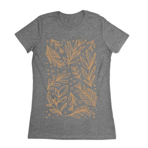 Tan Botanicals Womens T-Shirt