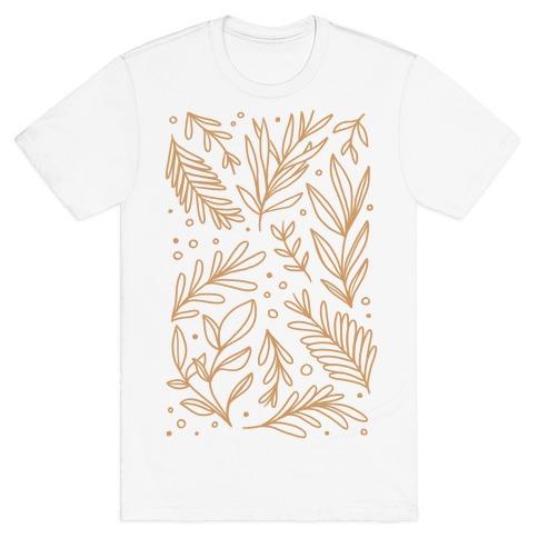 Tan Botanicals T-Shirt