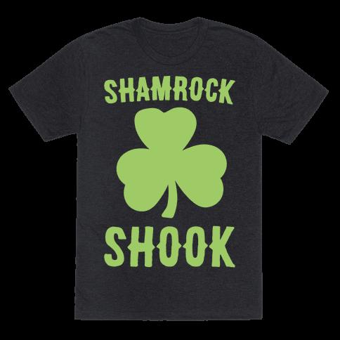 Shamrock Shook White Print