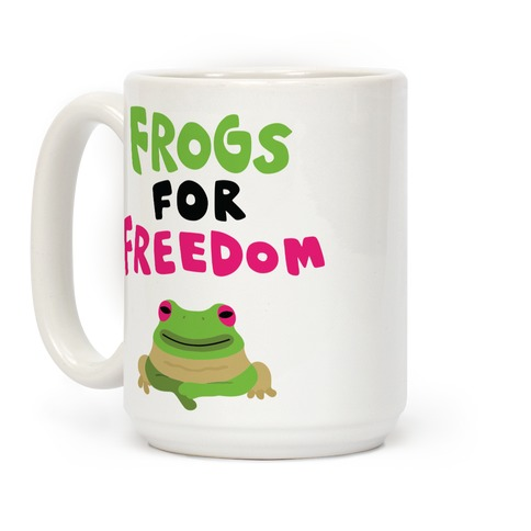 Frogs for Freedom Coffee Mug