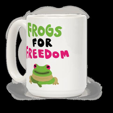 Frogs for Freedom Coffee Mug