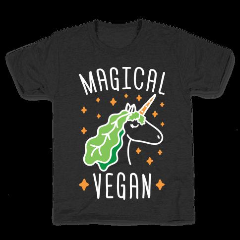 Magical Vegan Kids T-Shirt