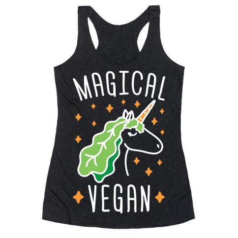 Magical Vegan Racerback Tank Top