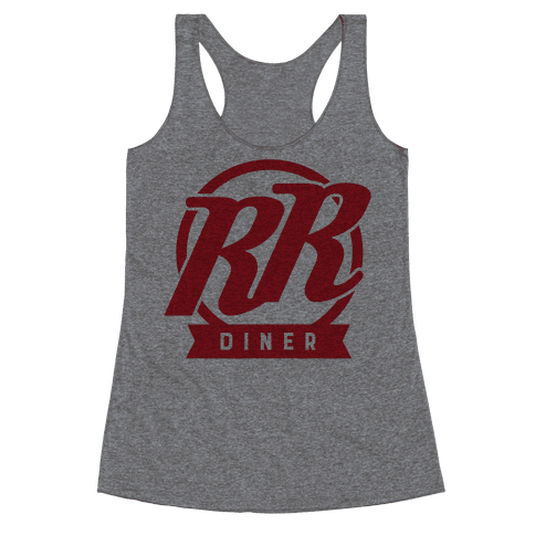 Double R Diner Logo Racerback Tank Top