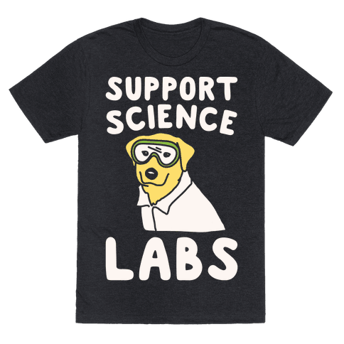 Support Science Labs White Print