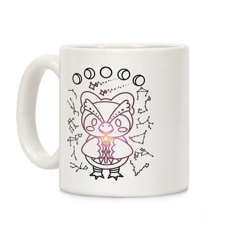 Celestial Astrology Owl Coffee Mug