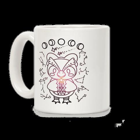 Celestial Astrology Owl Coffee Mug