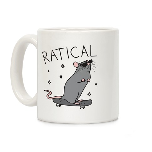 Ratical Rat Coffee Mug