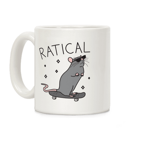 Ratical Rat Coffee Mug