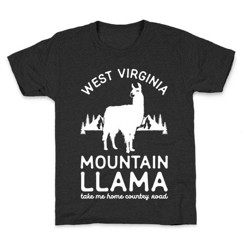 Mountain Llama Take Me Home Kids T-Shirt