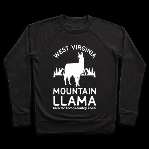 Mountain Llama Take Me Home Pullover