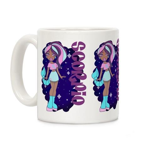 Zodiac Dollz: Scorpio Coffee Mug