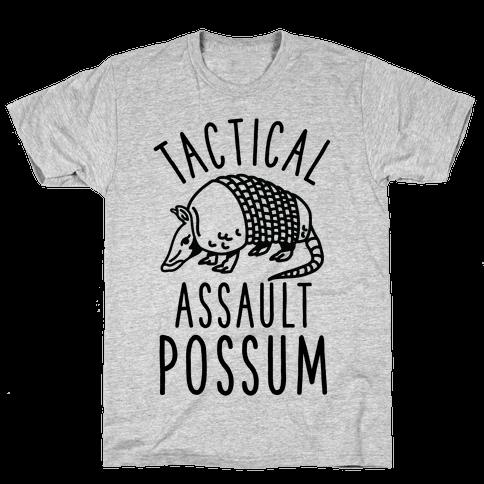 Tactical Assault Possum Mens T-Shirt