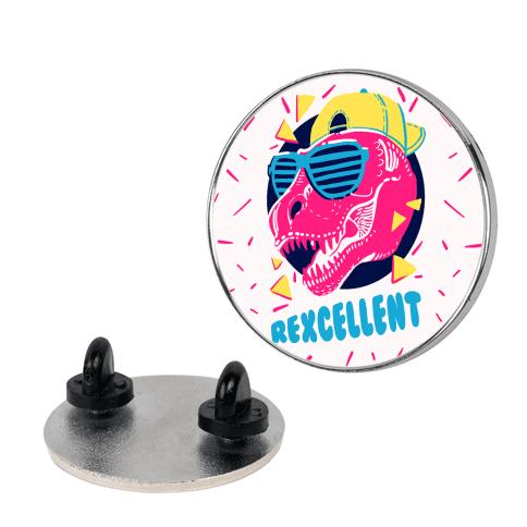T-Rexcellent 90's Dinosaur Tyrannosaurus pin