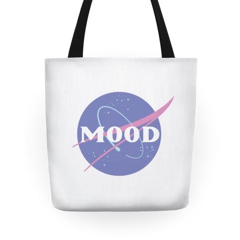 MOOD NASA Parody Tote